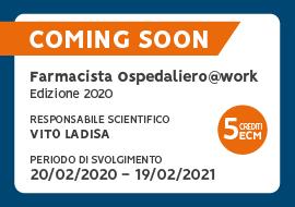 Coming Soon: Farmacisti Ospedalieri 2020